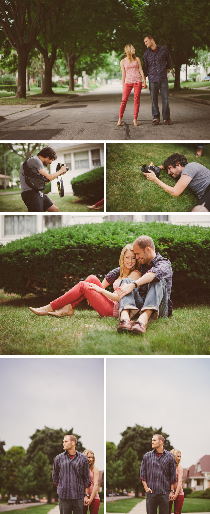 Door County Engagement Photographer