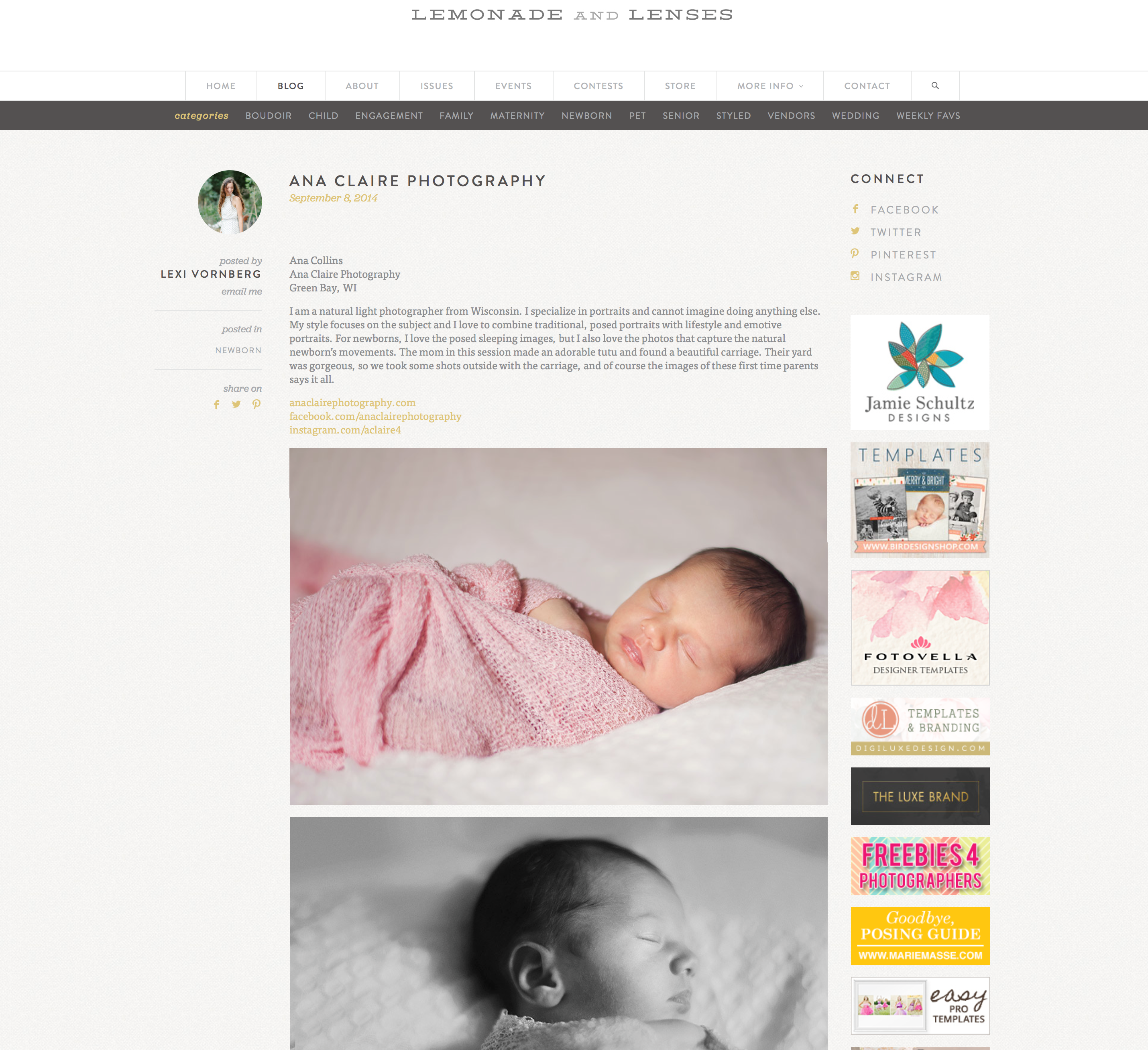 Green Bay Newborn Photographer