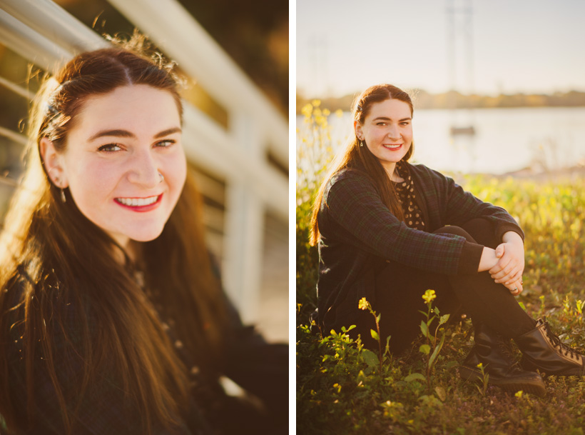 Natural Senior Portrait Poses