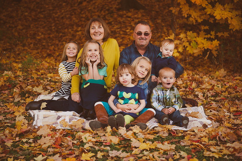 Fall Family Session in Green Bay
