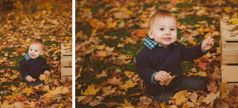 Fall Colors Green Bay Family Photographer